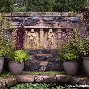 Image result for bishop's garden national cathedral washington dc