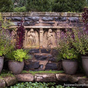 Image result for bishop's garden national cathedral washington dc